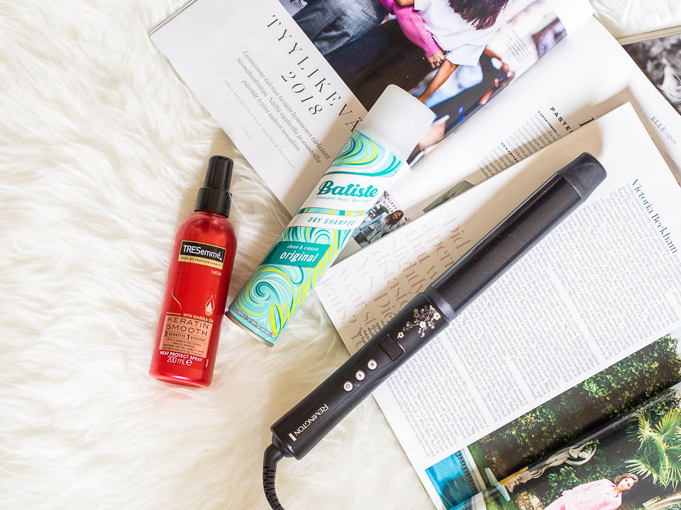 hair-routine-for-dry-wavy-hair-remington-batiste-tresemme