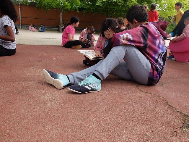 Día del libro, Apadrinamiento Lector 6º e Infantil