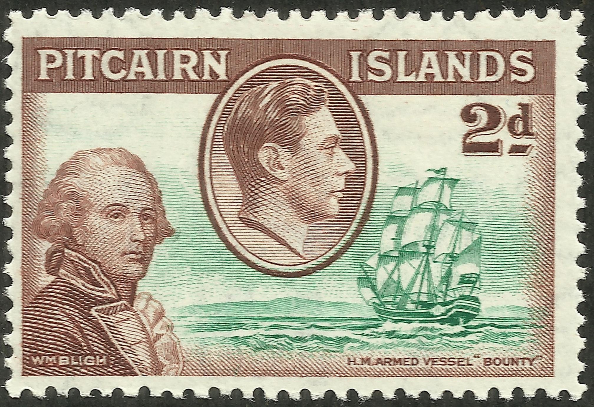 Pitcairn Islands - Scott #4 (1940)