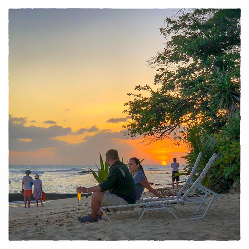 0418 clichésaturday sunset people beer sky vacation 2018 beach bridgetown christchurch barbados bb