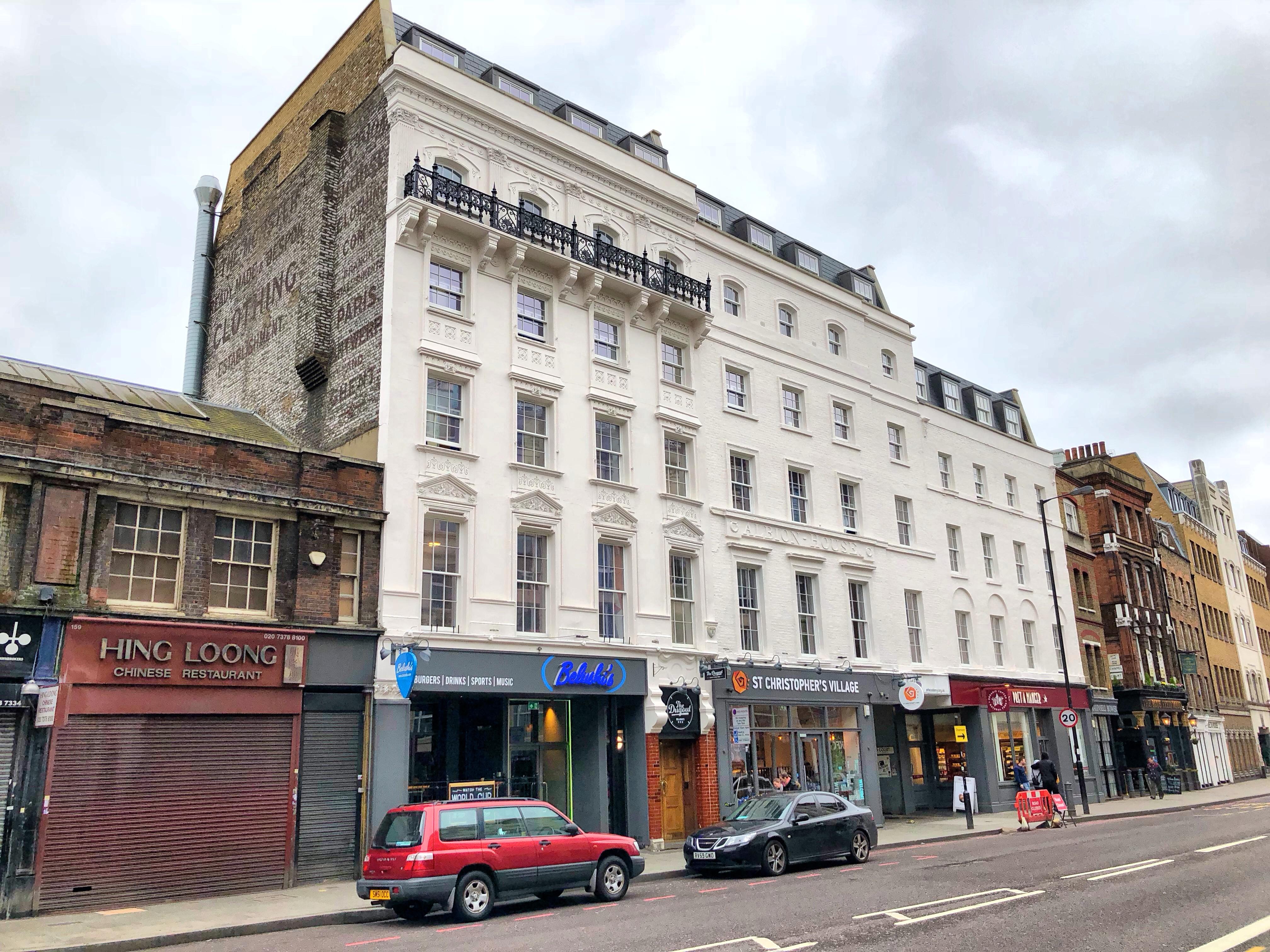St Christopher's inn London Bridge, capsule hostel1