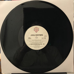 JUNGLE BROTHERS:40 BELOW TROOPER(RECORD SIDE-A)