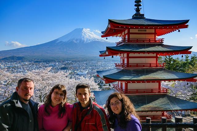 Fuji, cinco Lagos