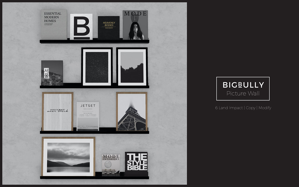BIGBULLY Picture Wall - equal10 - TeleportHub.com Live!