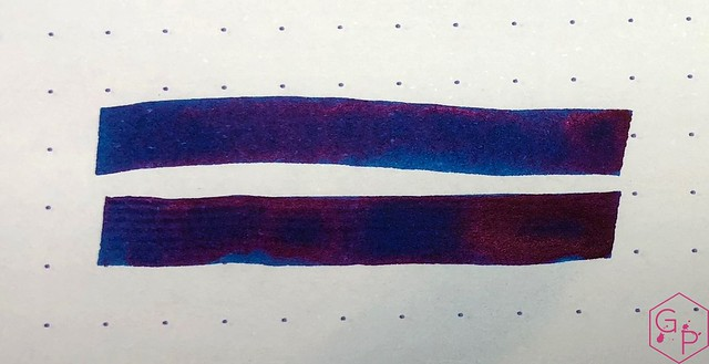 Krishna Inks Moonview Fountain Pen Ink Review @PenChalet 9