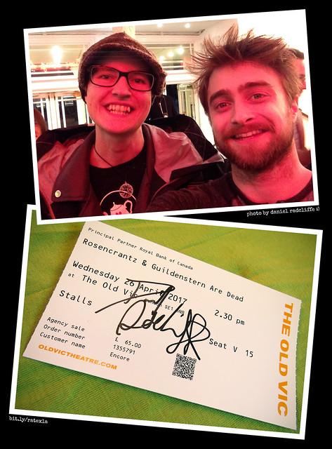 20170426_i2 Me & Daniel Radcliffe! :D | After