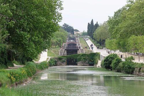 Canal du Midi - Béziers, France