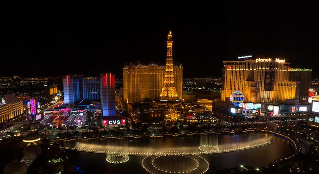 Views from Bellagio, Las Vegas