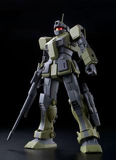 MSD版新造型立體化!HG 1/144《機動戰士鋼彈 THE ORIGIN MSD》RGM-79SC 吉姆狙擊特裝型(ジム・スナイパーカスタム)【PB限定】