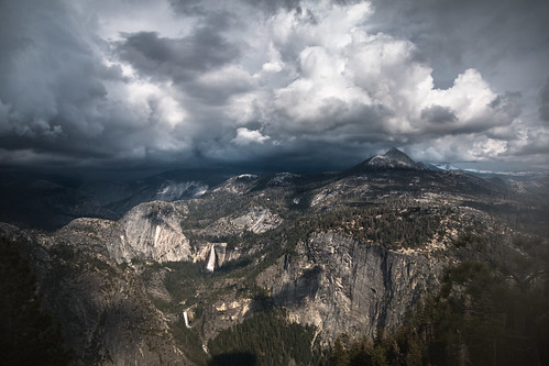 Storm Over Yosemite