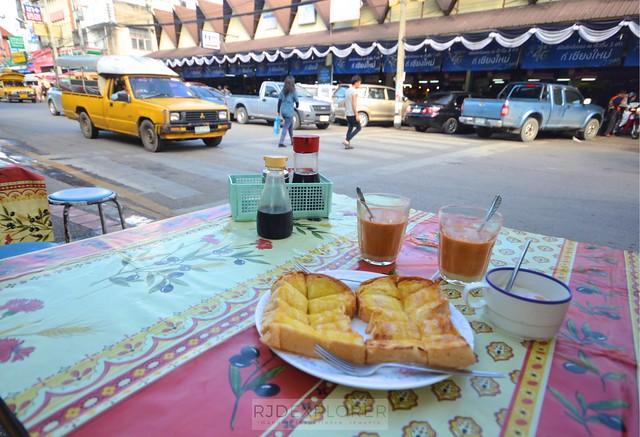 chiang mai itinerary thailand breakfast kaya toast