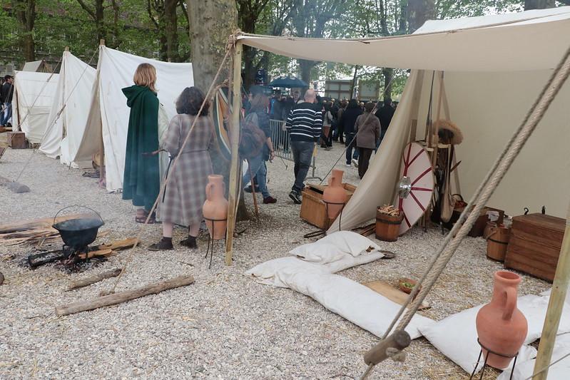 Les Gaulois et Romains débarquent sur la foire !