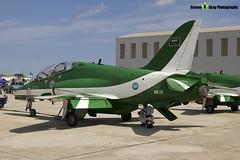 8806 - 6Y020 - Saudi Hawks - Royal Saudi Air Force - British Aerospace Hawk 65A - Luqa Malta 2017 - 170923 - Steven Gray - IMG_0057