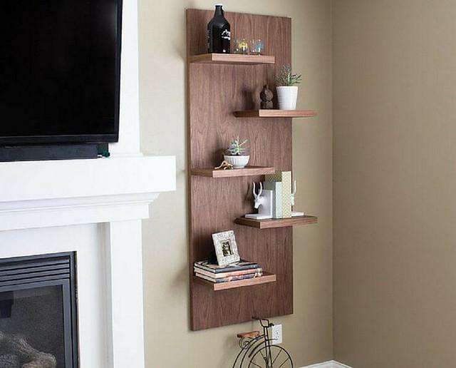 Best DIY Hanging Shelves Design Ideas