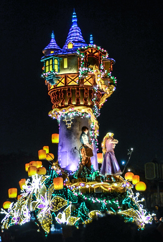 Rapunzel tower Dreamlights TDL