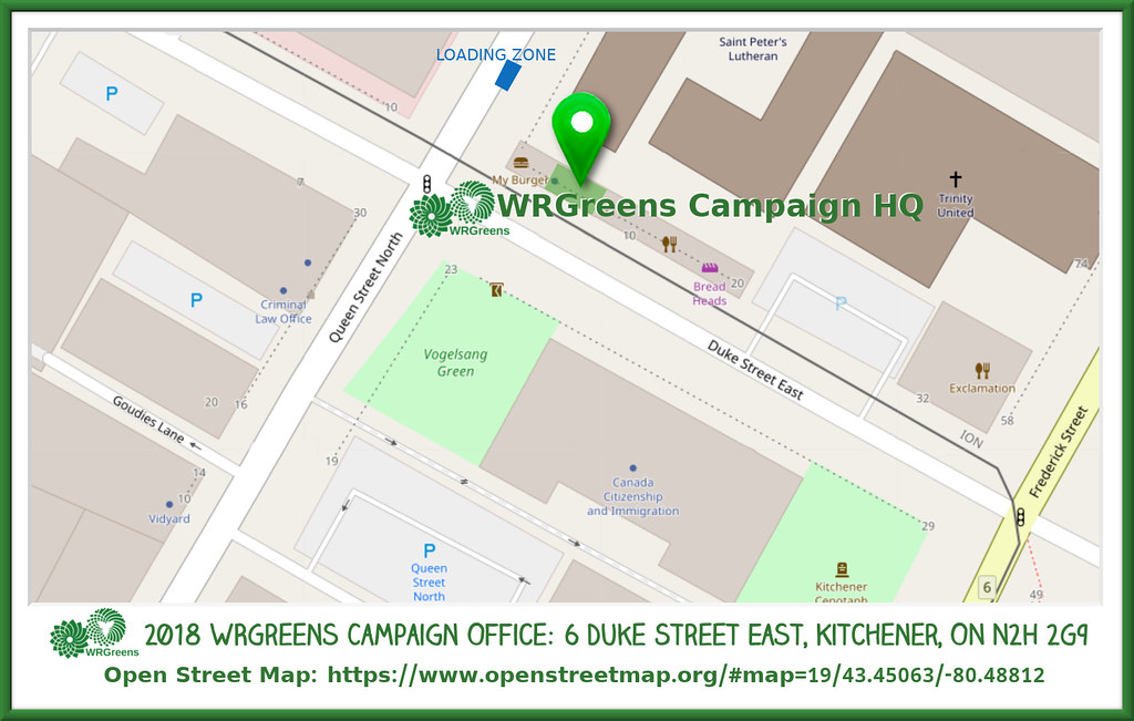 WRGreens Office map