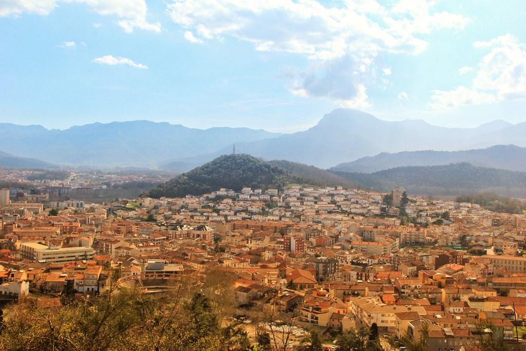 Olot cityscape