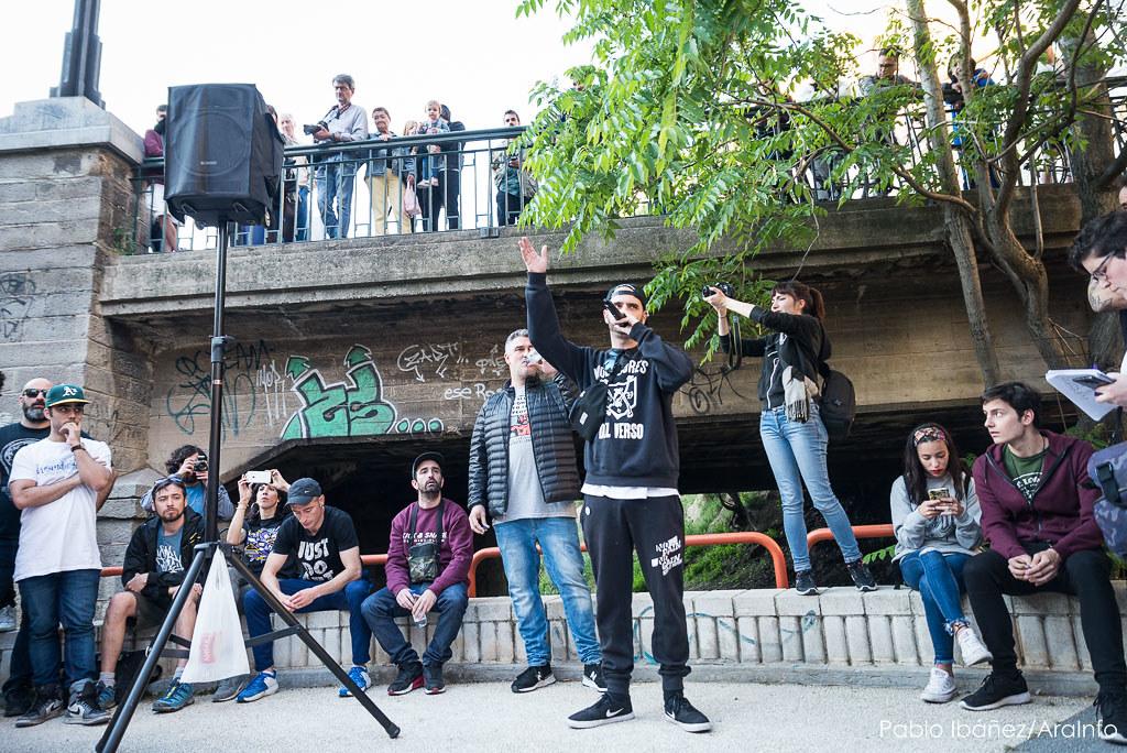 El rap de Zaragoza en apoyo a Valtonyc