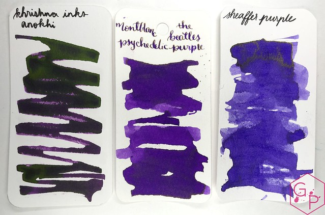 Krishna Inks Anokhi Fountain Pen Ink Review @PenChalet 5