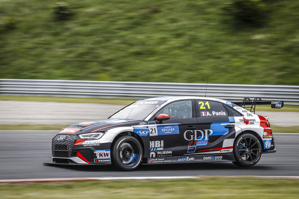 21 PANIS Aurelien, (fra), Audi RS3 LMS TCR team Comtoyou Racing, action during the 2018 FIA WTCR World Touring Car cup of Zandvoort, Netherlands from May 19 to 21 - Photo Francois Flamand / DPPI
