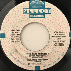 UTFO:ROXANNE, ROXANNE(LABEL SIDE-B)