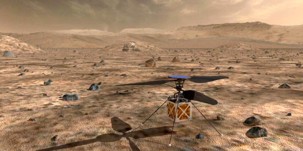 La NASA enverra un petit hélicoptère sur Mars en 2020