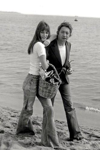 Джейн Биркин и Серж Генсбур