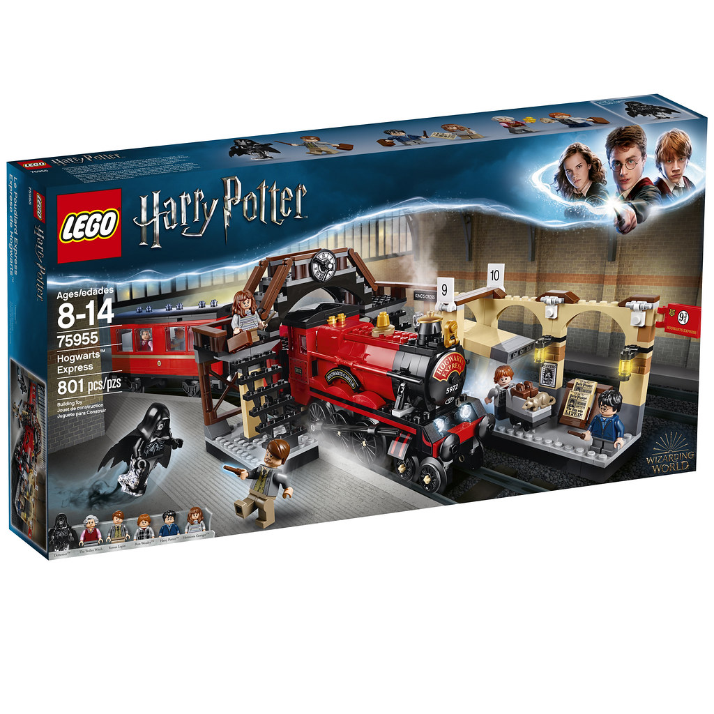 75955 Harry Potter Hogwarts Express Box Back