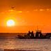 Sunset at Rainbow Beach, Australia by Manuel ROMARIS