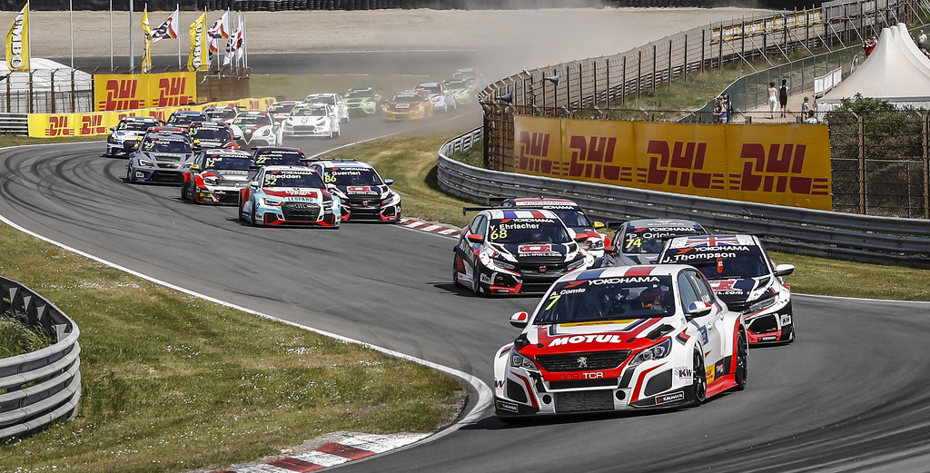 Start race 2 during the 2018 FIA WTCR World Touring Car cup of Zandvoort, Netherlands from May 19 to 21 - Photo Francois Flamand / DPPI