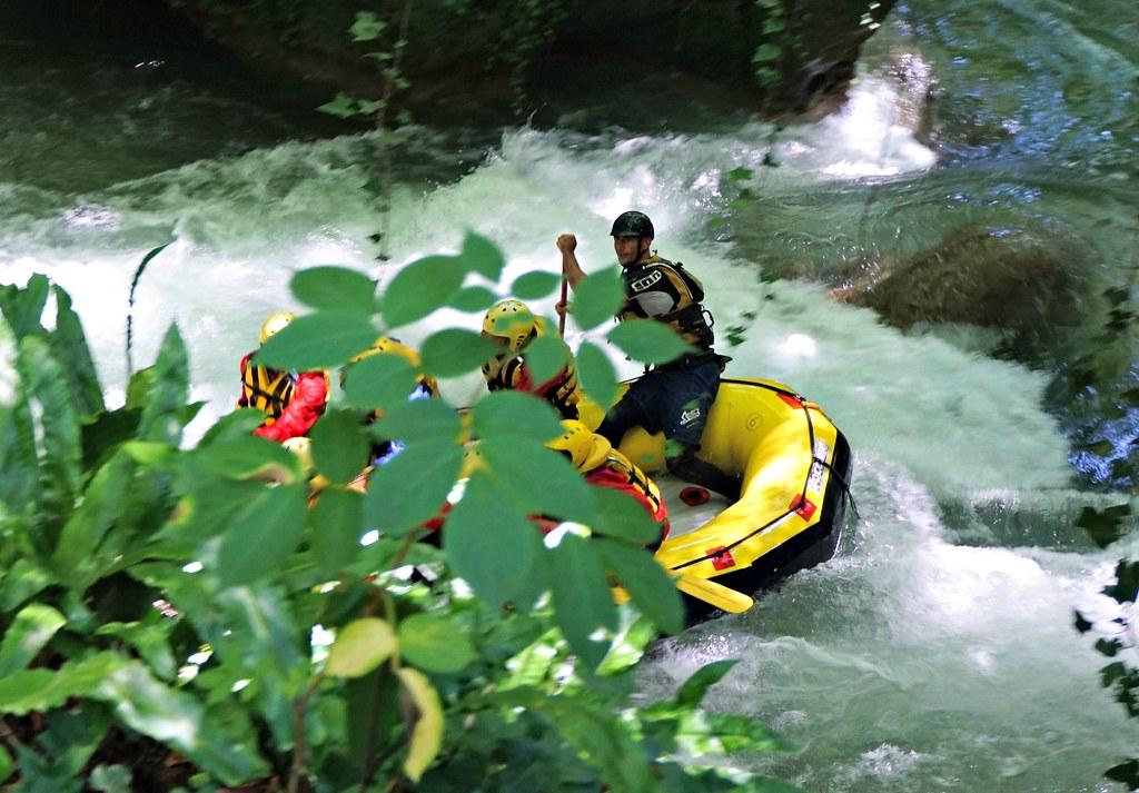 Raftingia Cascata delle Marmorella