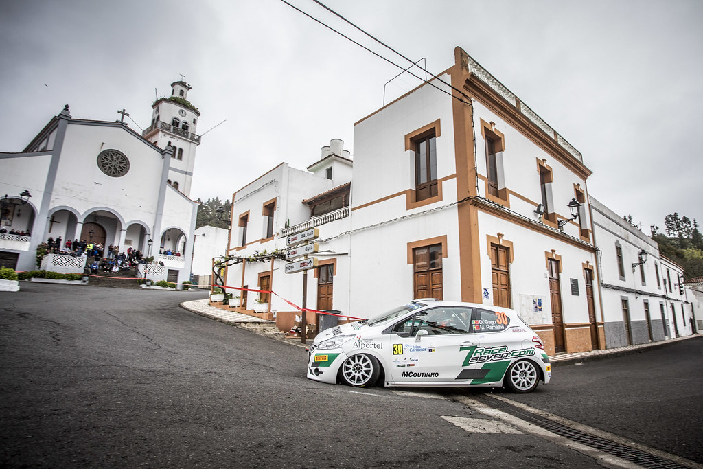 30 GAGO Diogo, RAMALHO Miguel, Peugeot 208 R2, action during the 2018 European Rally Championship ERC Rally Islas Canarias, El Corte Inglés,  from May 3 to 5, at Las Palmas, Spain - Photo Gregory Lenormand / DPPI