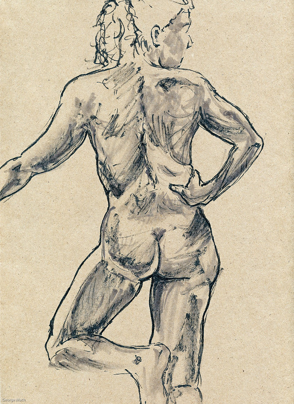 Figure Drawing - Sandy Hill-2