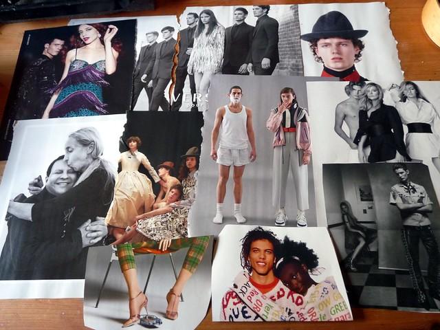 Männer in der Vogue Italia