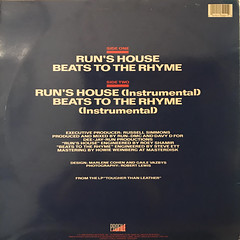 RUN-D.M.C.:RUN'S HOUSE(JACKET B)