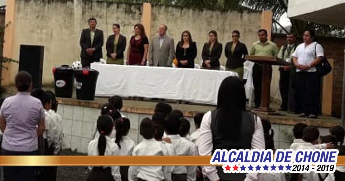 Se inició Espacio Cívico en la Unidad Educativa Yelmo Rivadeneira