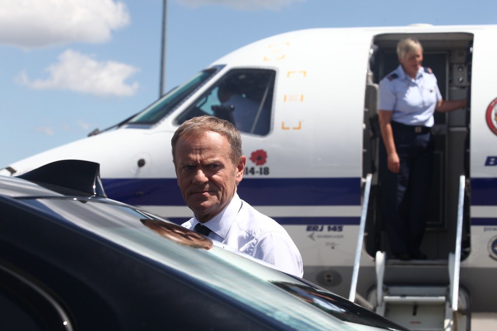 EU Leaders Arrive at Sofia Airport Ahead of the EU – Western Balkans Summit