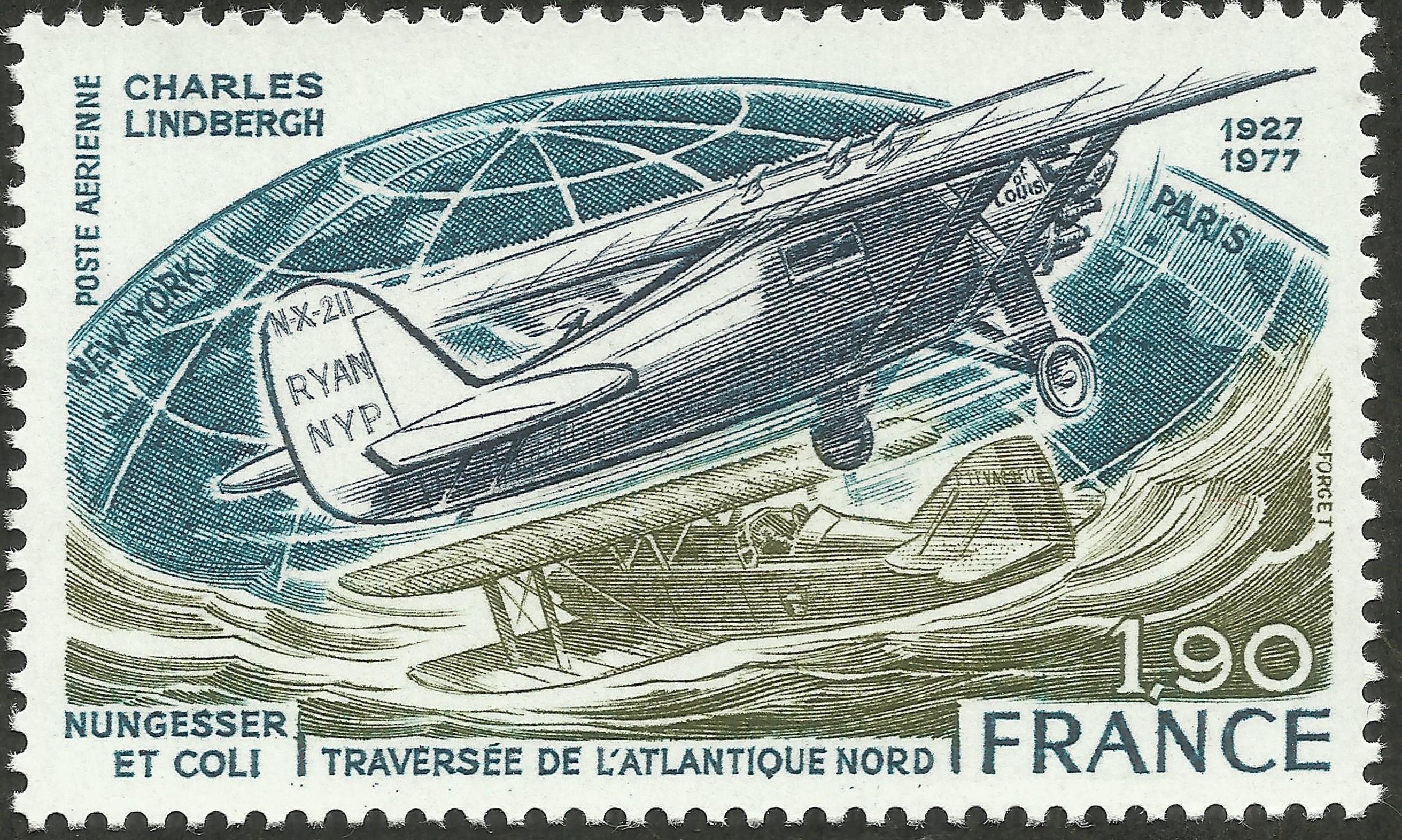 France - Scott #C49 (1977)