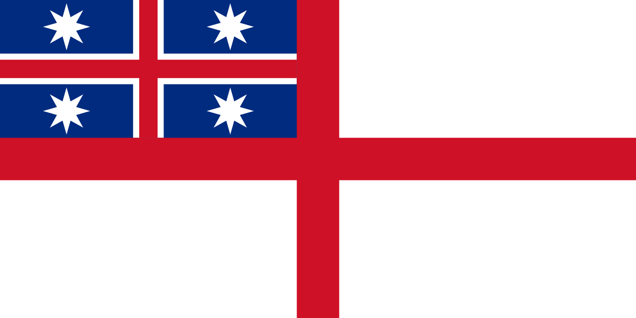 Flag of the United Tribes of New Zealand (used by the Maori)