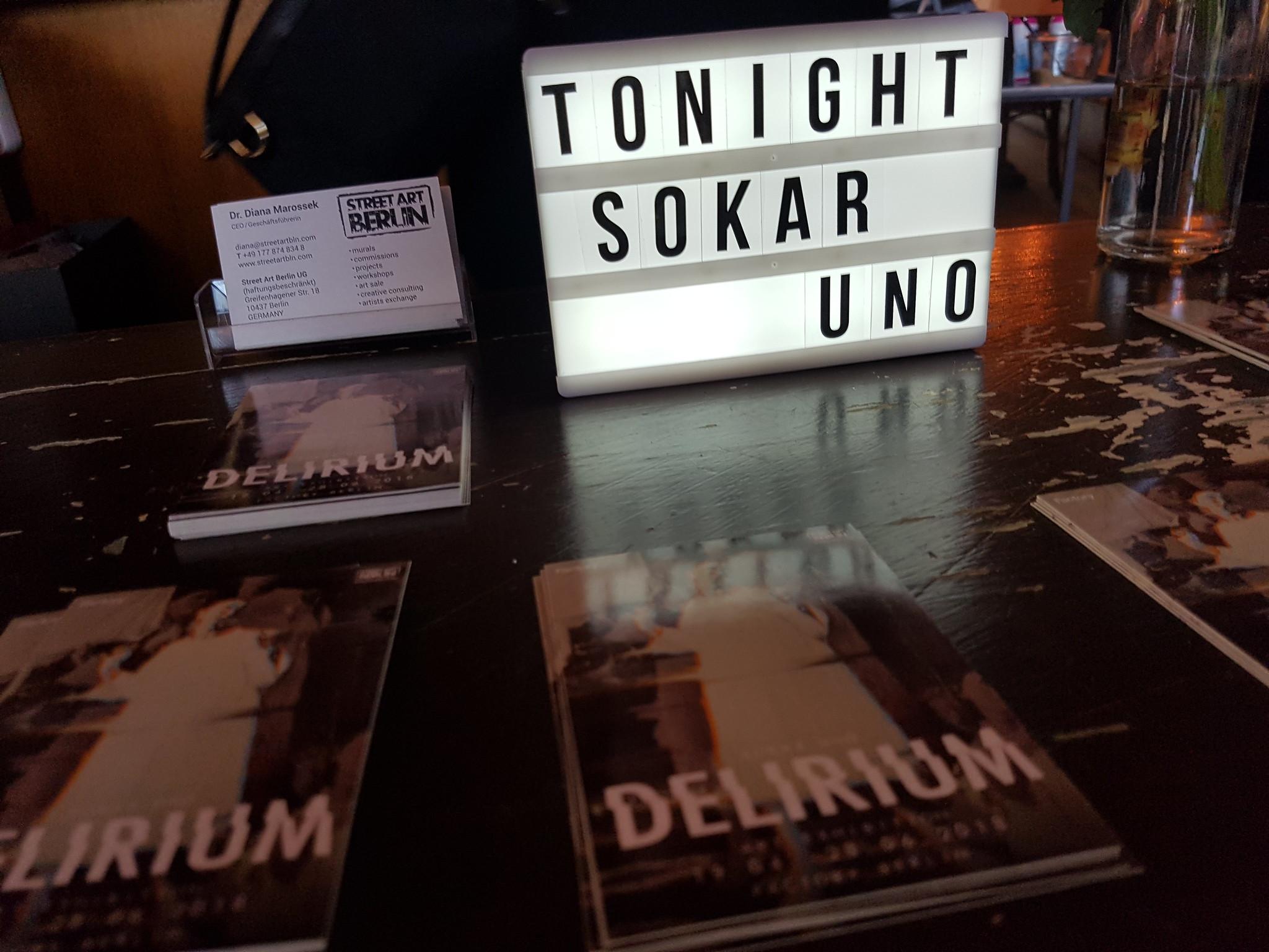 Sokar Uno Exhibition, Berlin