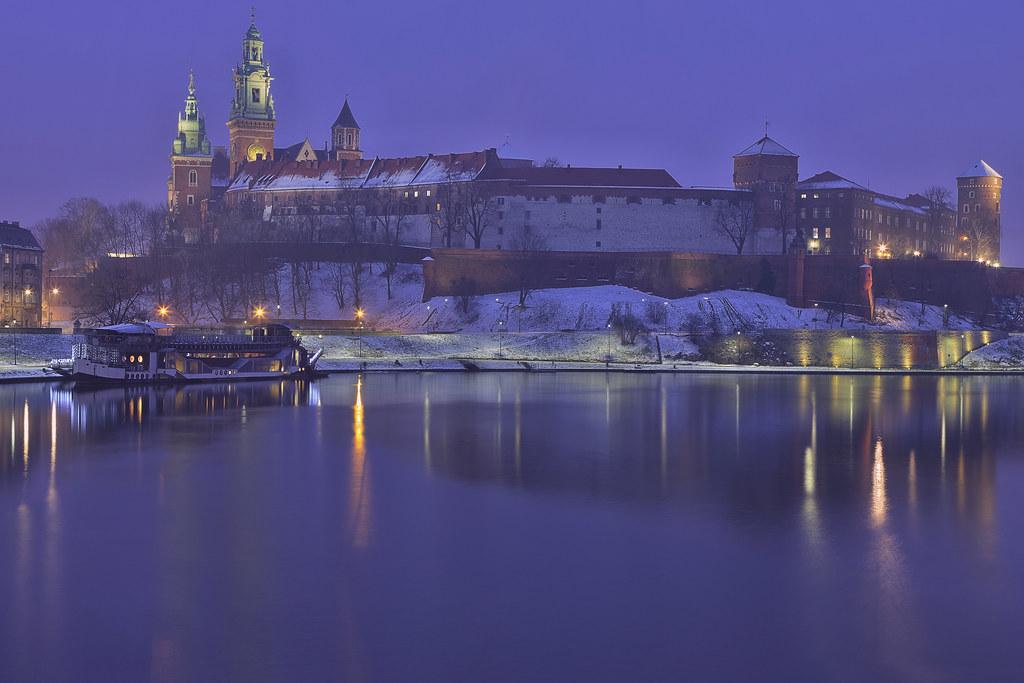 Il regno di Ghiaccio / The frozen kingdom (Wawel Castle, Krakow, Poland)