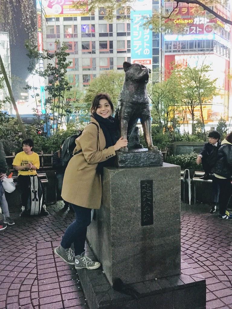 Hachiko and I