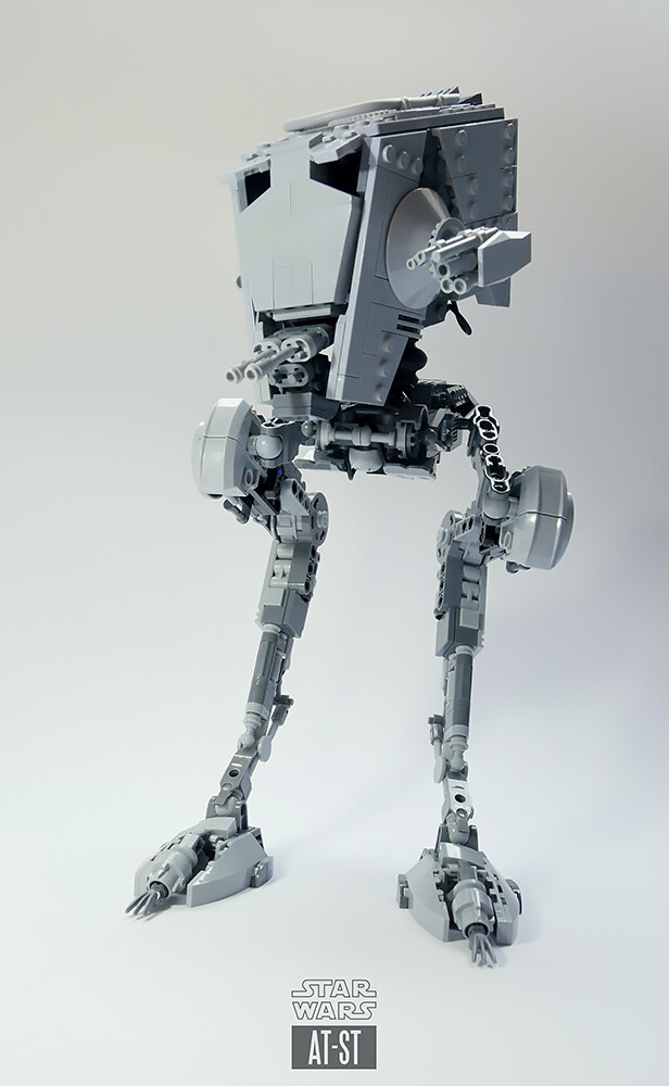 AT-ST LEGO MOC v2.5