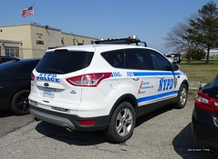 NYPD Police Academy Driver Training 5542 - 2014 Ford Escape (8)