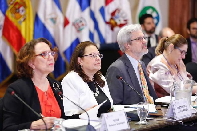segunda jornada de la XIX Conferencia Iberoamericana de Ministros de Cultura