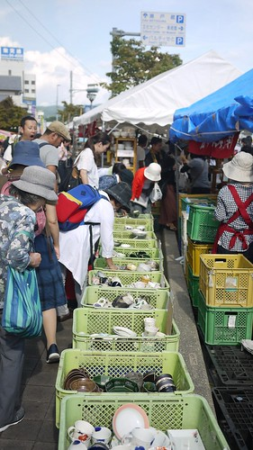 Bargains at the Seto-mono Matsuri