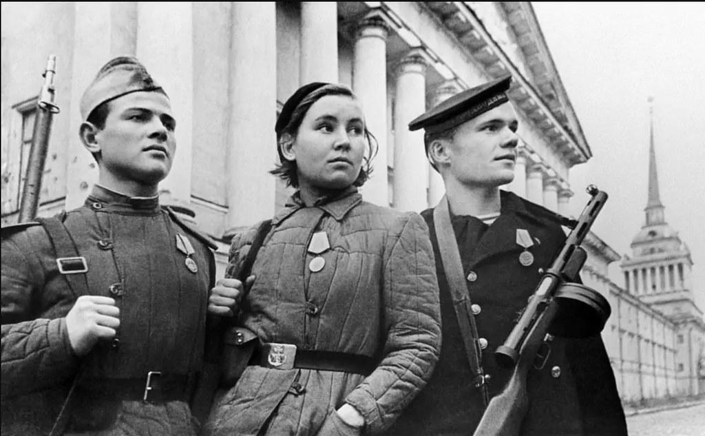 1943. Защитники Ленинграда