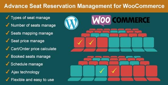 Advance Seat Reservation Management for WooCommerce v1.5.1