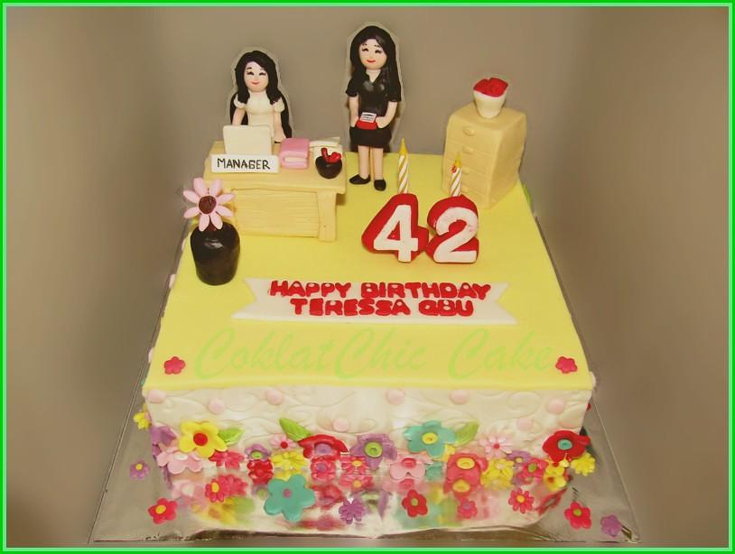 Cake Ibu MANAGER TERESSA 22 cm