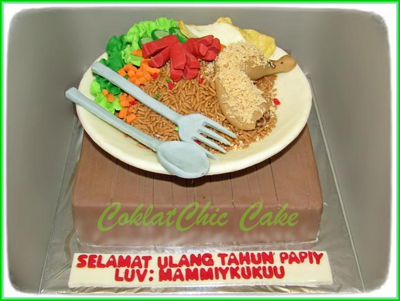 Cake Nasi Goreng PAPIY 20 cm